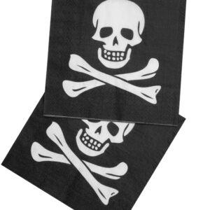 Servietten Pirat 20Stk