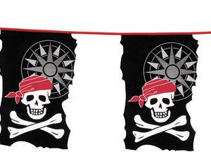 PE Wimpelkette Pirat (10 m)