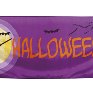 Banner Vollmond Halloween 74x220 cm