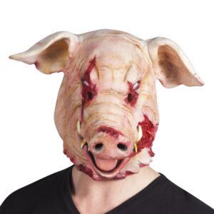 Latexmaske Schwein