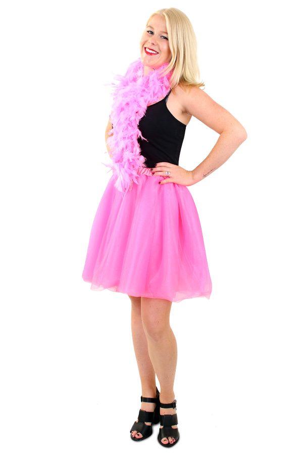 Tüllrock Deluxe Pink/Rosa