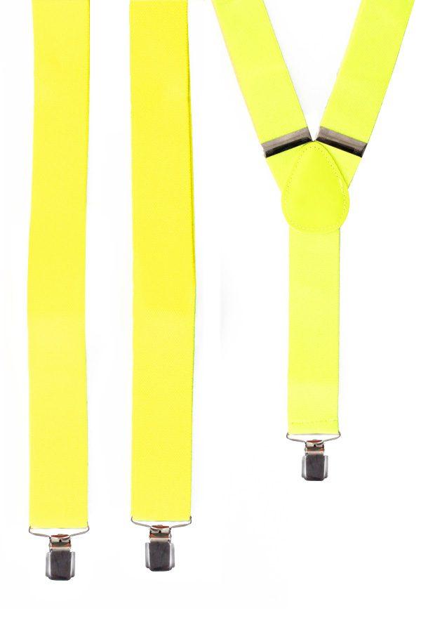 Hosenträger Neongelb