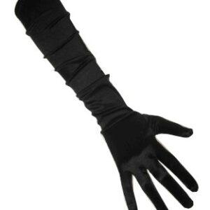 Handschuhe schwarz, 48 cm