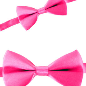 Satinschleife pink 12 x 6.5 cm
