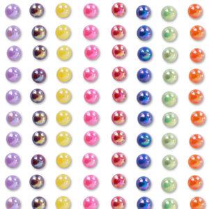Körperschmuck Perlen Rainbow