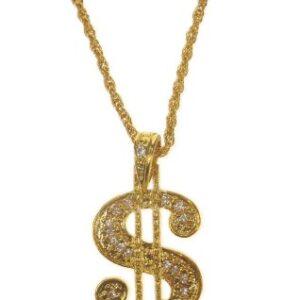 Goldkette Dollarzeichen