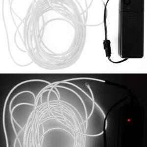 LED Leuchtschnur weiß 5m