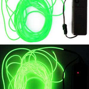 LED Leuchtschnur grün 5m