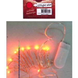 LED Leuchtschnur rot