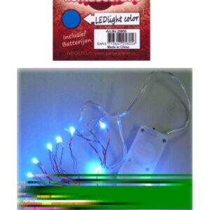 LED Leuchtschnur blau