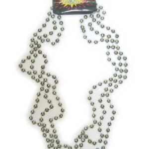 Kette silberne Perlen, drei Stränge a 96 cm