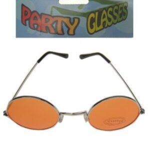 Lennon Brille orange Gläser