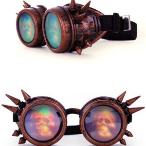 Brille Steampunk Hologram
