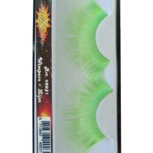 Wimpern Jumbo grün