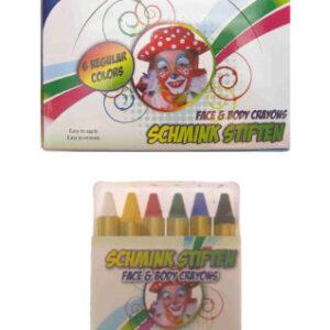 Schminkstifte 6 Stk