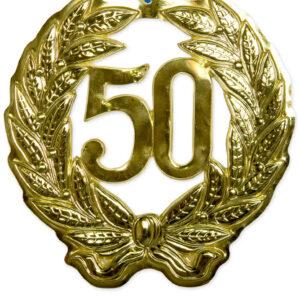Jubiläumskranz 50 Jahre Goldene Hochzeit 40 cm Ø