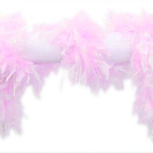 Federboa Lurex rosa