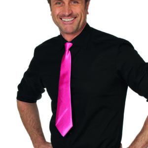 Krawatte neon-pink