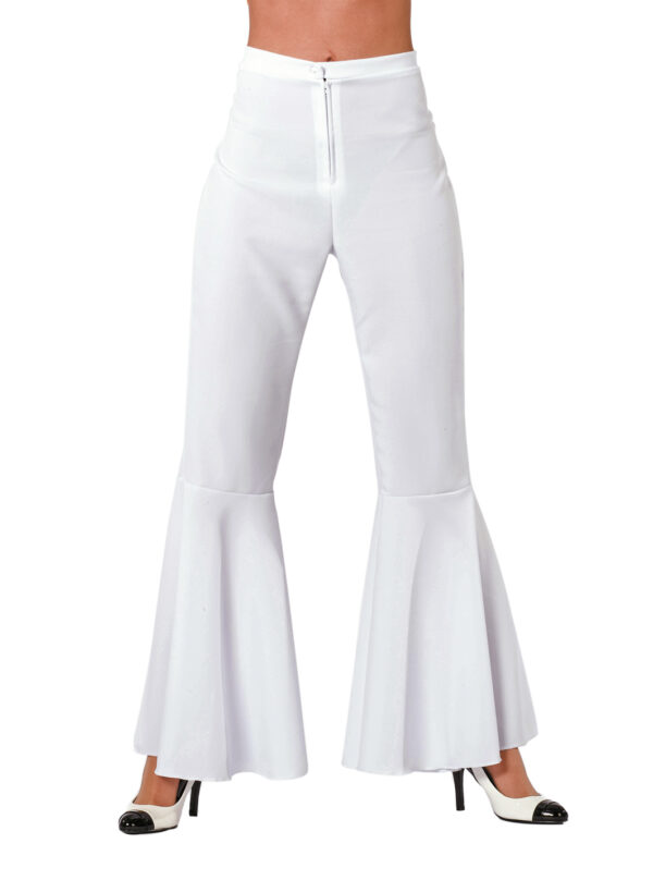 Damen Hippiehose bi-stretch weiß Gr.36