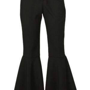 Damen Hippiehose bi-stretch schwarz Gr.40