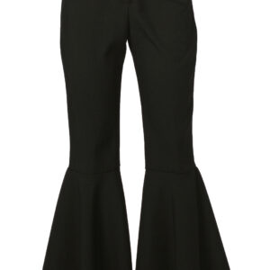 Damen Hippiehose bi-stretch schwarz Gr.48