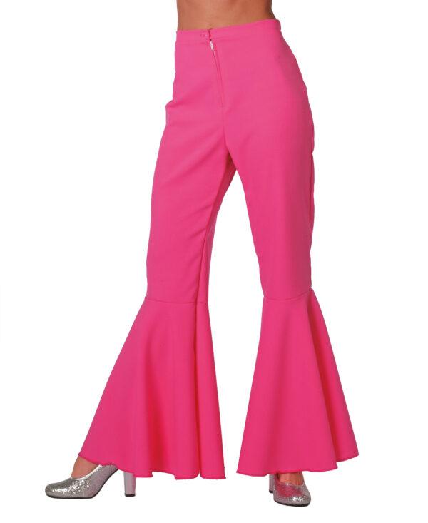 Damen Hippiehose bi-stretch pink Gr.38