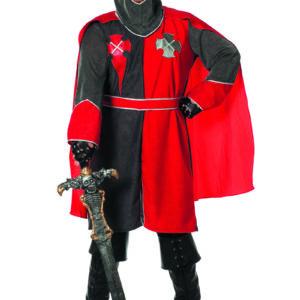 Ritter Arthur, rot/grau Gr.60