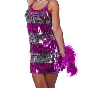 Kleid Pailletten hängend Gr.42