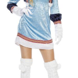 Damenkostüm Eskimo blau Gr.40