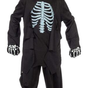 Kinderkostüm Skelett Gr.152
