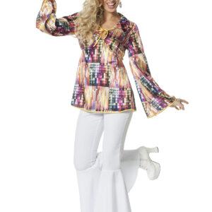Damen Discoshirt Gr. 40