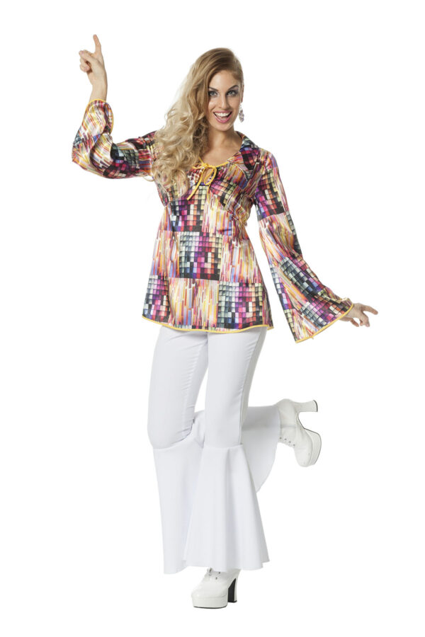 Damen Discoshirt Gr. 48