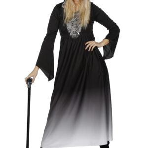 Damen Halloweenkleid mit Kapuze Gr. 44