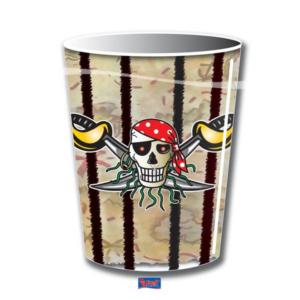 Becher Pirat   250ml  8Stk
