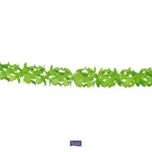 Girlande Papier grün 6m