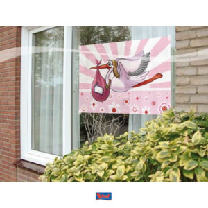 Fensterfahne Mädchen 60x90cm