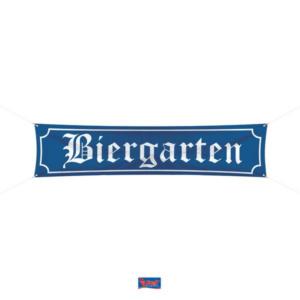 Banner Biergarten 40x180cm
