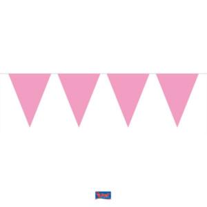 Wimpelkette rosa 10m
