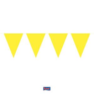 Wimpelkette gelb 10m