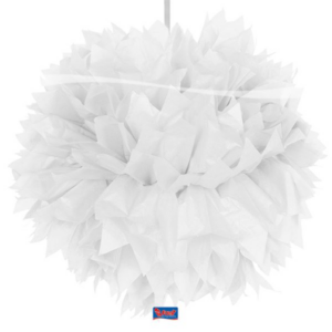 Pompom weiß 30cm
