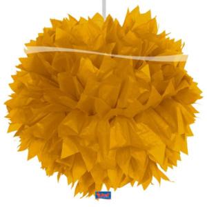 Pompom gold 30cm