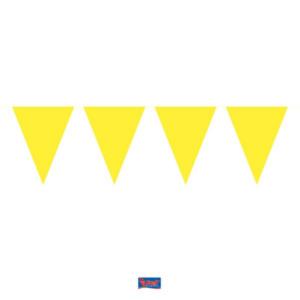 Wimpelkette Mini gelb 3m