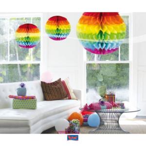Honigwaben Ball multicolor 30cm