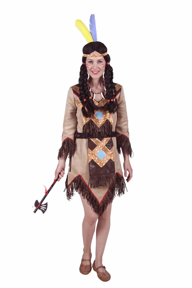 Kostum Indianerin Cherockee Gr Xxl Kolner Kostumkiste
