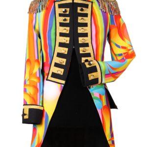 Damenjacke Farbenfest regenbogen Gr. L