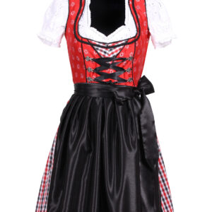 Dirndl Sarah rot-schwarz Gr.42