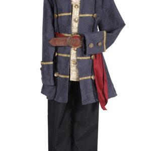 Kinderkostüm de Luxe Pirat Gr. 128