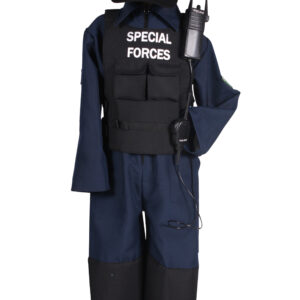 Kinderkostüm SWAT-Anzug Gr. 116