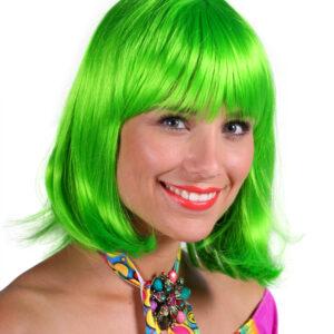 Perücke de Luxe Samantha grün