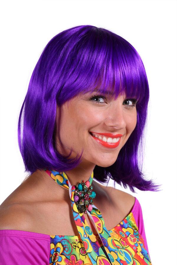 Perücke de Luxe Samantha violett